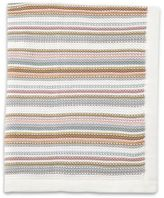 Mamas and Papas Pastel Stripe Knitted Blanket