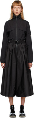 Moncler Black Belted Dress
