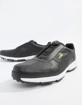Puma Ignite drive disc sneakers in black