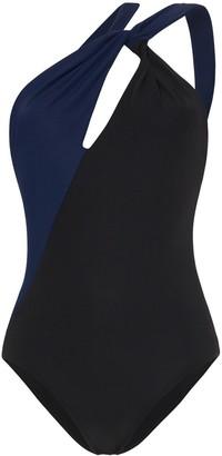 Araks Venetia two-tone swimsuit