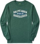 Ralph Lauren Cotton Graphic Long-Sleeve Tee
