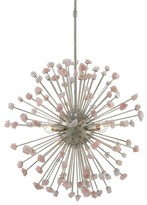 The Well Appointed House Rose Quartz Orb Chandelier - ON BACKORDER - CALL FOR AVAILABILITY