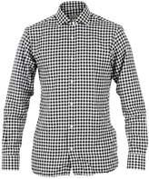 Ermenegildo Zegna Z Zegna\nBlack And White Checked Shirt