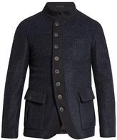 Giorgio Armani Patch-pocket Fleece Jacket