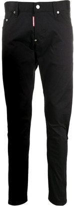 DSQUARED2 Mid-Rise Stretch Twill Chinos