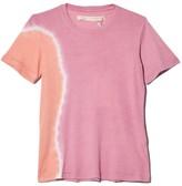 Raquel Allegra Signature Jersey Slim Tee in Pink Sunrise Tie Dye