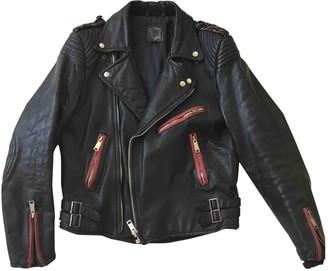 Ohne Titel Black Leather Jacket for Women
