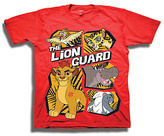 Freeze Red The Lion Guard Tee - Toddler