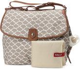 Babymel Baby Wave-Print Satchel Diaper Bag