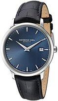 Raymond Weil 'Toccata' Swiss Quartz Stainless Steel Dress Watch, Color:Black (Model: 5488-STC-50001)