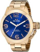 TW Steel Men's CB182 Rose Gold-Tone Stainless Steel Watch with Dial