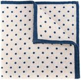Eleventy polka dot pocket square scarf - men - Wool - One Size