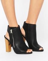 Call it SPRING Saviel Peeptoe Shoe Boots