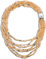 John Hardy Bead Necklace with Citrine