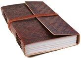 Life Arts Camel Hide Large Celtic Handmade Handbound Journal, Plain Pages (23cm x 13cm x 4cm)