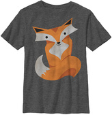 Fifth Sun Charcoal Heather Foxy Fox Crewneck Tee - Boys
