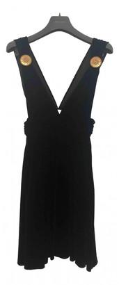 Fausto Puglisi Black Velvet Dresses