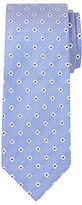 Chester By Chester Barrie Flower Silk Tie, Blue/white
