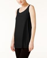 Eileen Fisher SYSTEM SYSTEM Silk Jersey Tunic Tank Top, Regular & Petite