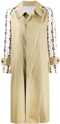 La Prestic Ouiston Marceau key print coat