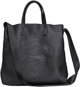 RK New York Embossed Snake Tote Bag