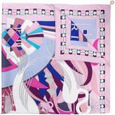 Bulgari patterned scarf
