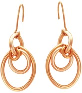 Lily Flo Jewellery Cherish Solid Rose Gold Oval Drop Earrings