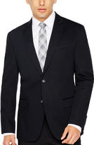 Jf J.Ferrar JF True Black Cotton Sport Coat Slim