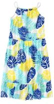 Crazy 8 Palm Maxi Dress