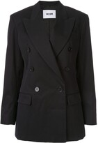 MSGM classic double-breasted blazer