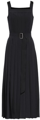 Max Mara Zadar pleated midi dress