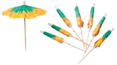 Sunnylife Pineapple Cocktail Umbrellas (Set of 24)
