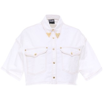 Versace Cropped Western Shirt
