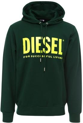 Diesel Logo Printed Hoodie
