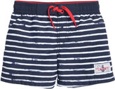 H&M Swim Shorts - Dark blue/striped - Kids
