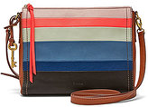 Fossil Emma Striped East/West Cross-Body Bag