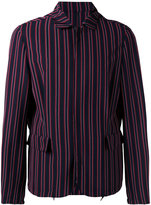 Wooyoungmi striped jacket - men - Elastodiene/Polyester/Rayon/Wool - 48
