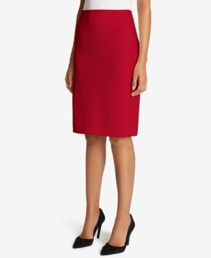 Tahari ASL Twill Pencil Skirt