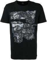 Diesel digital print T-shirt - men - Cotton - S