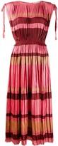 Ulla Johnson Alessa striped midi dress