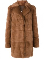 Yves Salomon Full Collar Mink Fur Coat