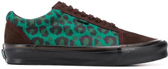 Vans Old Skool leopard sneakers