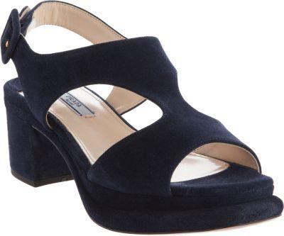 Prada Stacked Platform Silngback Sandal