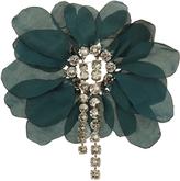 Lanvin Floral-embellished brooch