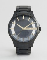 Armani Exchange AX2192 Stainless Steel Bracelet Watch In Black