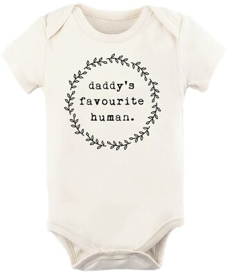 Tenth & Pine Daddy's Favourite Human Onesies - 0-3 Months