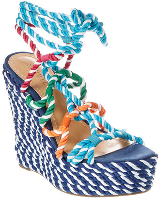 Schutz Channeles Wedge Sandal