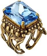 Sorrelli Emerald Cut Band Ring, Crystal