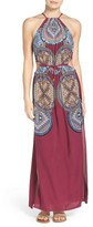 Red Carter Women's Cover-Up Maxi Dress