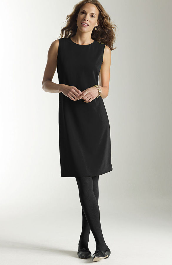 J. Jill Crepe sheath dress